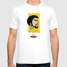 Hain Teny Jazz SMALL White Mens Fitted Tee