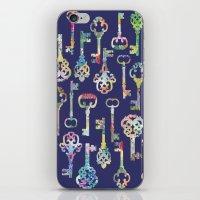 Rainbow Keys iPhone & iPod Skin