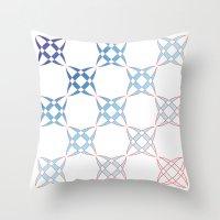 Checker C4 Throw Pillow