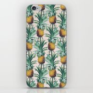 Pineapple Trellis iPhone & iPod Skin