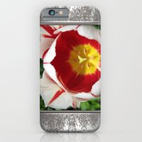 iPhone & iPod Case featuring Triumph Tulip named Carnaval de Rio by JMcCombie