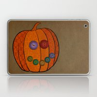 Patterned pumpkin  Laptop & iPad Skin