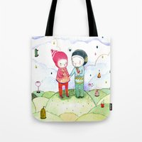Winter Love Tote Bag