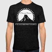 Mount Doom Mens Fitted Tee Tri-Black SMALL