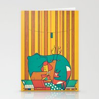 music Stationery Cards featuring MUSIC by Ale Giorgini
