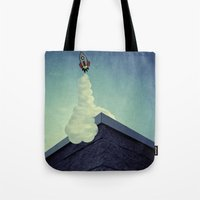 Blast Off Tote Bag