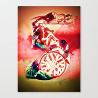FIVE Canvas Print
