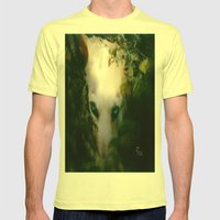 DOG Or DEVIL Mens Fitted Tee Lemon SMALL
