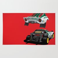 Lancia Stratos Rug