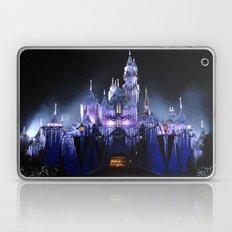 Sleeping Beauty's Winter Castle (Night-time, no 1) Laptop & iPad Skin