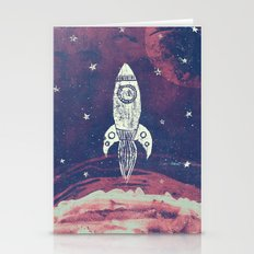 Space Adventure Stationery Cards