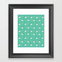 Panda #1 Framed Art Print