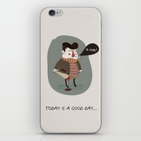 GOOD DAY iPhone & iPod Skin