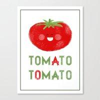 Tomato-Tomato Canvas Print