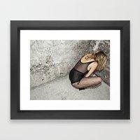 KATZE Framed Art Print