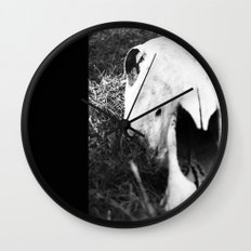 The Skull of a Cow Wall Clock
