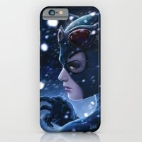 Catwoman Painting iPhone 6 Slim Case