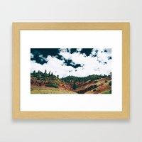 Colorado Valley Framed Art Print