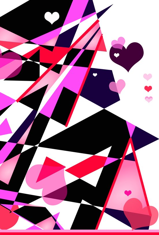 Single Track to Love 2 Art Print