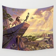The Lion King - The Circle of Life Wall Tapestry