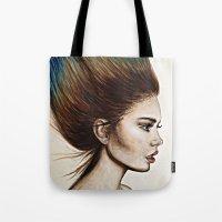 Ombre Hair (Mirror) Tote Bag