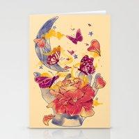 Papillon Ache Stationery Cards