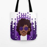 Purple Rain Tote Bag