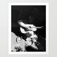 Guitarrista De Guadalaja… Art Print
