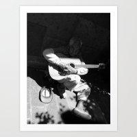 Guitarrista de Guadalajara  Art Print
