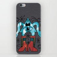 eye look. iPhone & iPod Skin
