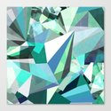 Colorflash 8 mint Canvas Print