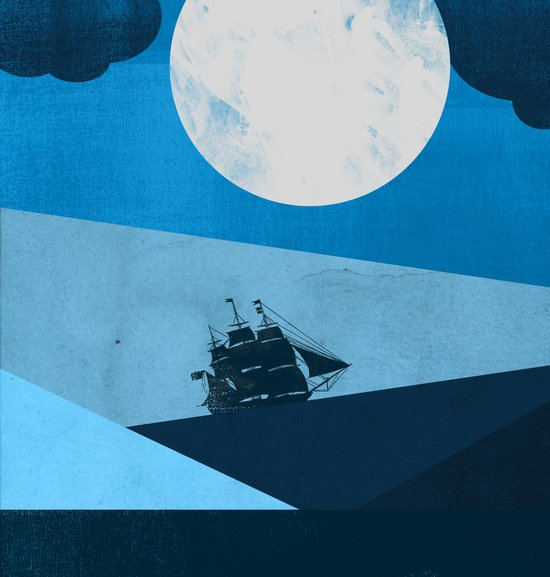 Solo Ocean Trip Canvas Print