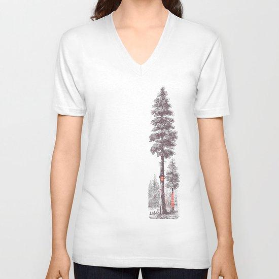 Granny's Hobby V-neck T-shirt