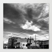 CafeTazo SF Street Photo Canvas Print