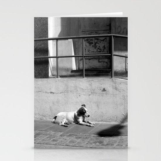 Stray Dog Stationery Card