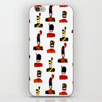 Moustache Soldiers iPhone & iPod Skin
