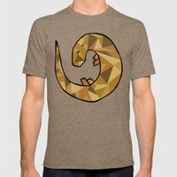 Otter Mens Fitted Tee Tri-Coffee SMALL