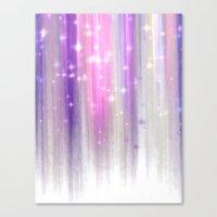 Lights Curtain A Canvas Print