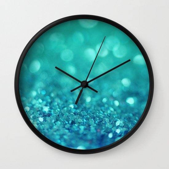 Bubble Party Wall Clock
