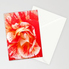 Two‑Color Rose Flower 3472 Stationery Cards