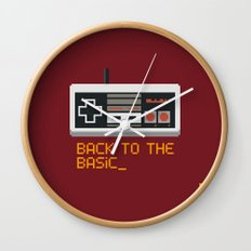 back to the basic_  Wall Clock