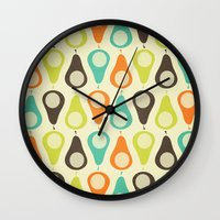 Oh What A Lovely Pear. Wall Clock