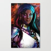Pirate Queen Canvas Print
