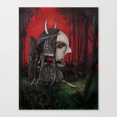 The Horseless Headsman Canvas Print