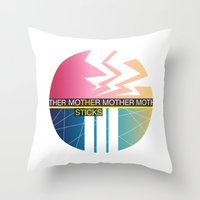 The Sticks Throw Pillow