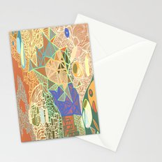 Sky Map Stationery Cards