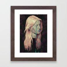 Ghost IV Framed Art Print