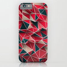 Abstract Red iPhone 6 Slim Case