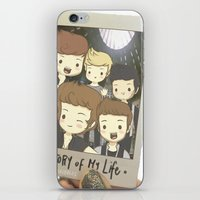 One Direction Story of My Life Cartoon iPhone & iPod Skin