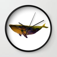 Down by the sea Wall Clock